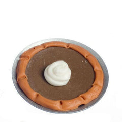 miniature pumpkin pie for dollhouses