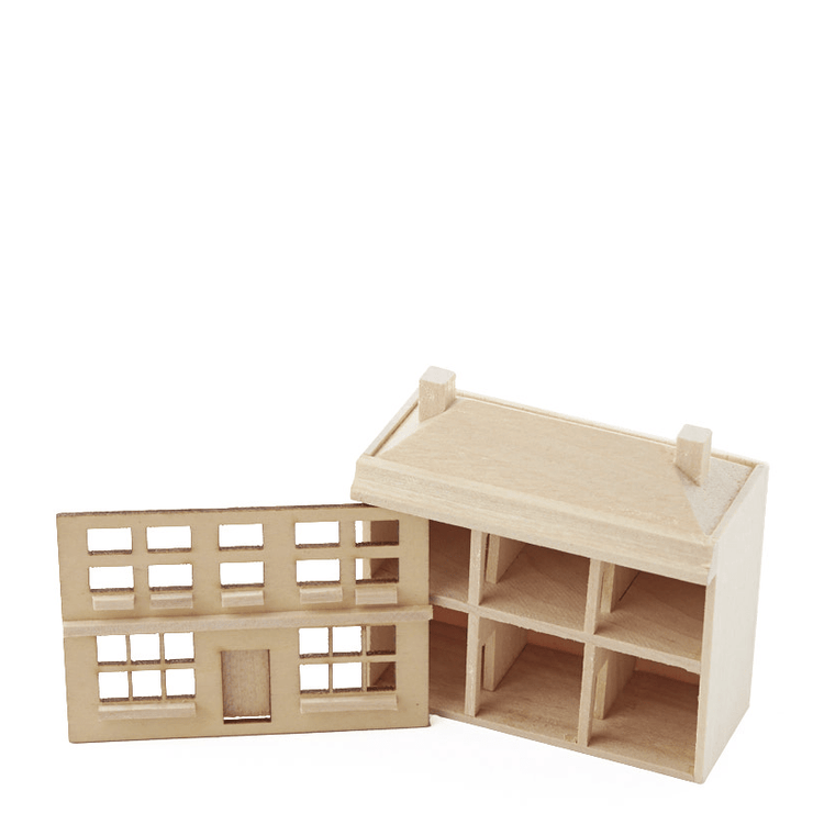 Unfinished Kids' Toy Dollhouse