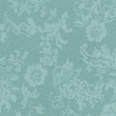Mint Damask Dollhouse Wallpaper - Little Shop of Miniatures