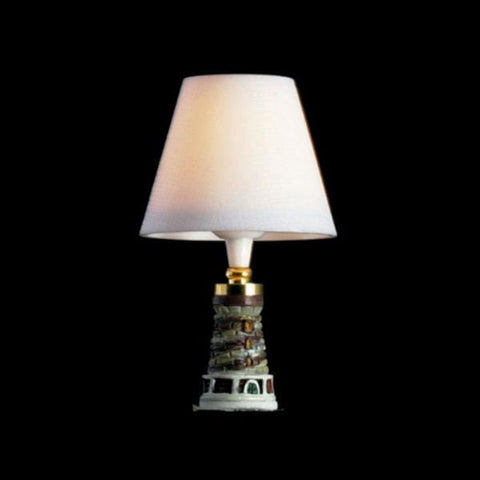Lighthouse Dollhouse Miniature Table Lamp - Little Shop of Miniatures