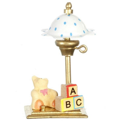 nursery dollhouse lamp