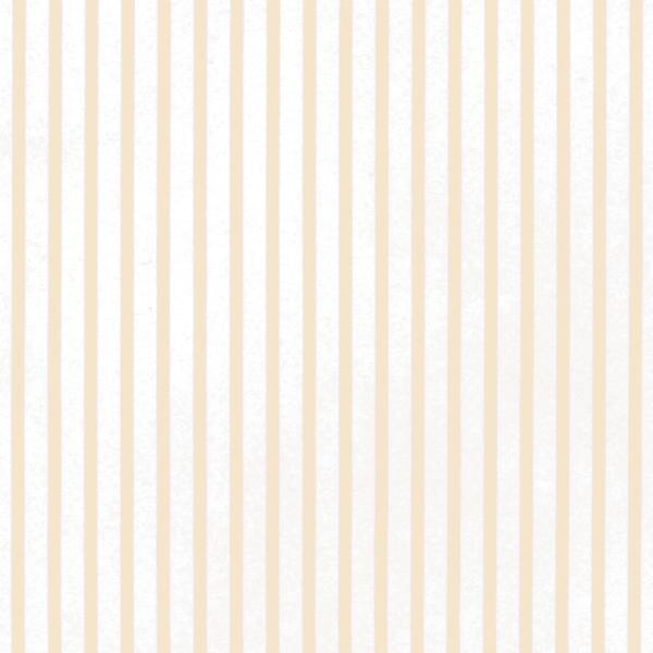 peach stripe dollhouse wallpaper