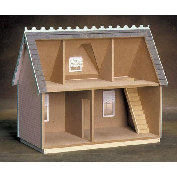 Victorian Cottage Wooden Dollhouse Kit Little Shop Of