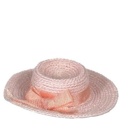 Pink Dollhouse Doll Ladies' Hat - Little Shop of Miniatures