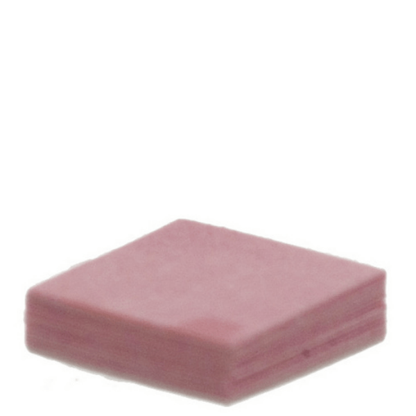 pink dollhouse miniature post it notes