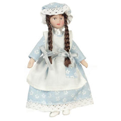 porcelain dollhouse miniature doll