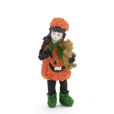 pumpkin girl dollhouse doll