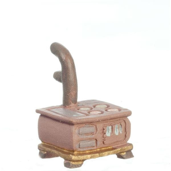 quarter scale dollhouse miniature stove
