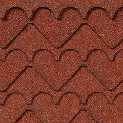 red heart asphalt shingles