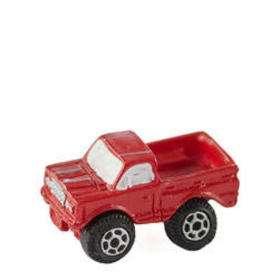 Red Dollhouse Miniature Toy Truck - Little Shop of Miniatures