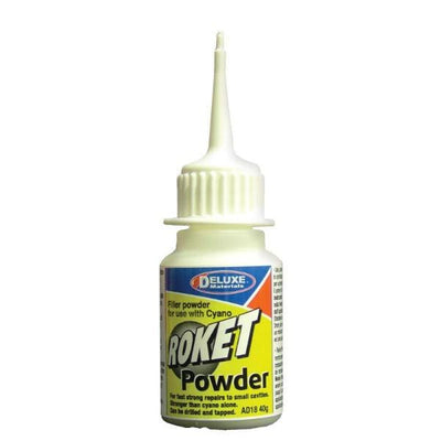 A tube of Roket Powder.
