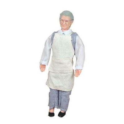 Craig the Shopkeeper Dollhouse Doll - Little Shop of Miniatures