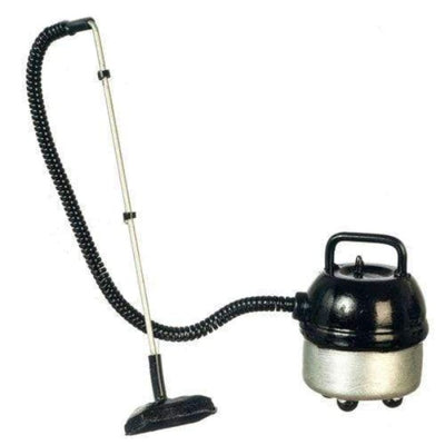 Silver Dollhouse Miniature Canister Vacuum - Little Shop of Miniatures
