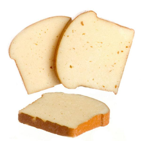 slices of dollhouse miniature bread
