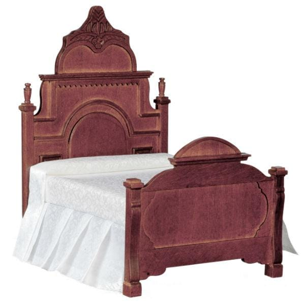 victorian dollhouse miniature bed