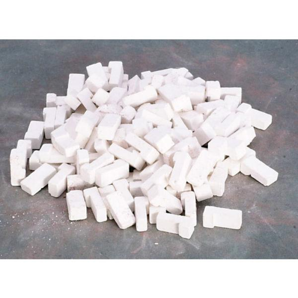 white dollhouse miniature corner bricks