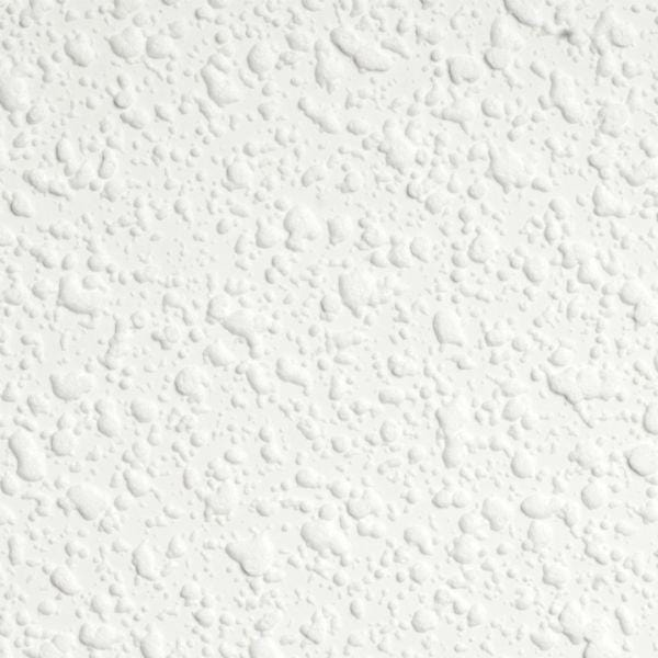 White textured dollhouse ceiling wallpaper.