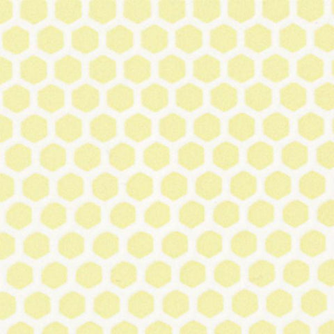 Small Yellow Hexagon Dollhouse Tile Sheet - Little Shop of Miniatures