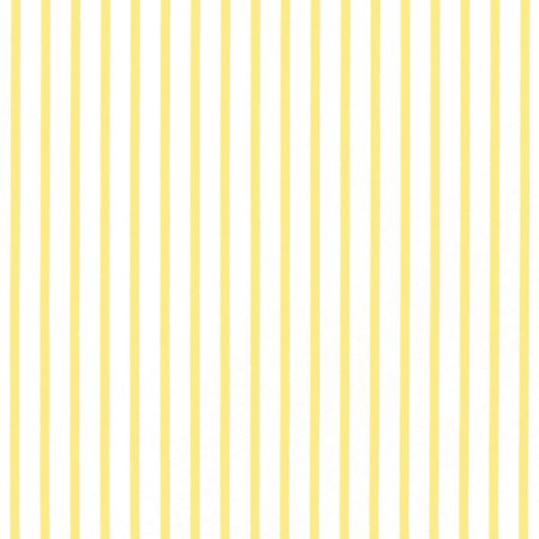yellow stripe dollhouse wallpaper