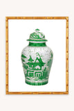 Green Ginger Jar Print