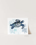 Snapping Turtle Art Print-Prints-Alex Isaacs Designs
