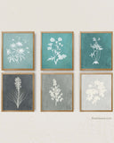 Teal Gray Farmhouse Rustic Art by Alex Isaacs