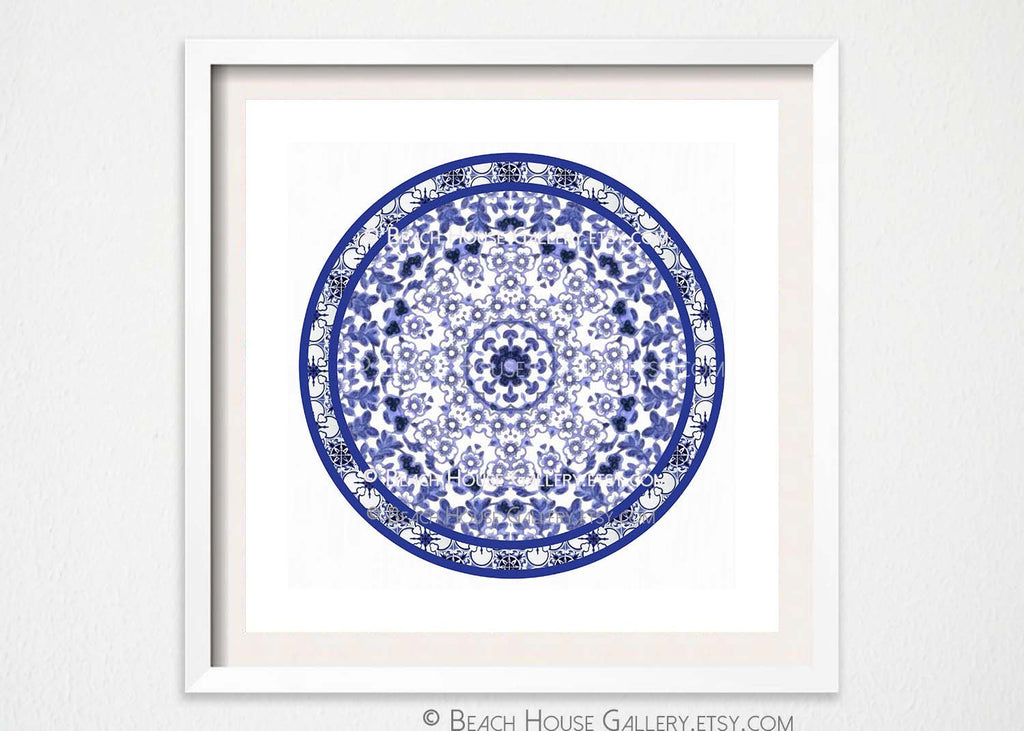 Chinoiserie Medallion Wall Art -Alex Isaacs Designs