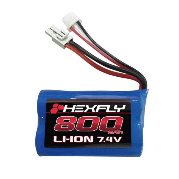800mAh 7.4V Li-Ion Battery with mini Tamiya connector for use with the Volcano-18 V2 ONLY
