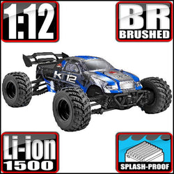 kt12 1/12 Scale Electric Monster Truck Redcat Racing