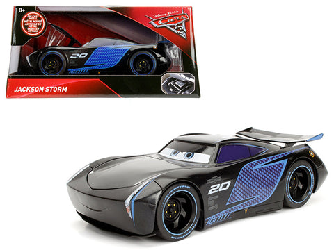 "Disney Pixar ""Cars 3"" Movie Jackson Storm Diecast Model Car by Jada"