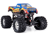 Ground Pounder 1:10 Scale Solid Axle, Dirt slinging, Car Crushing Monster Truck