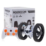 LeadingStar New Mini RC Bounce Car 2.4GHz 4CH Remote Control Jumping Sumo 360 Degree Rotation LED and Music Toys For Children