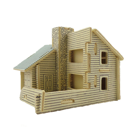 BOHS Educational Toys 3D Wooden  DIY Scale Models Small Villa