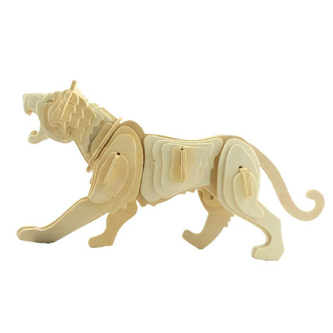 BOHS Zodiac Tiger Wooden 3D Jigsaw  Child Model Puzzle