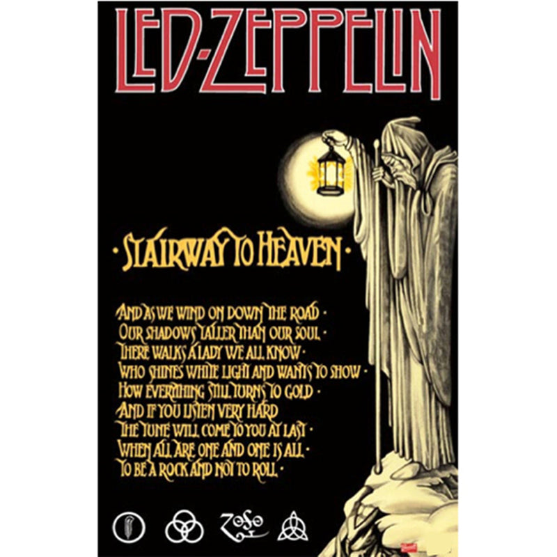 Led Zeppelin Stairway Poster