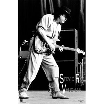 SRV Live with Number 1 Poster