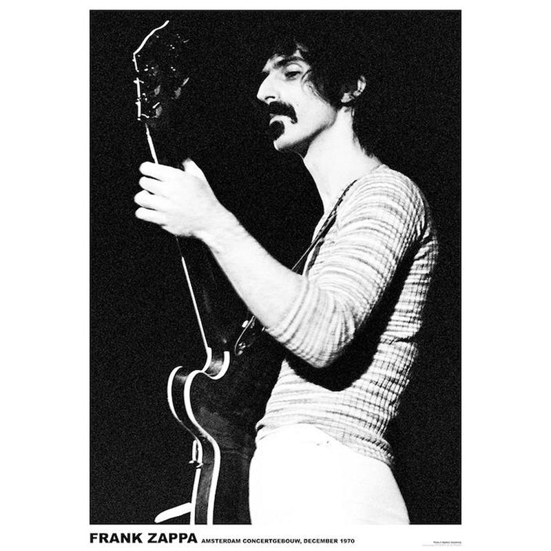 Frank Zappa 1970 Poster