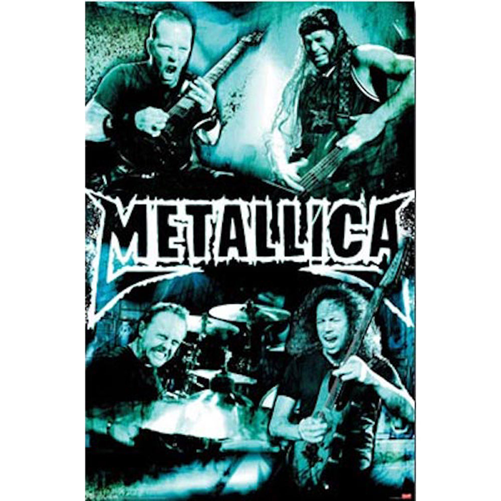 Metallica Live Montage Poster