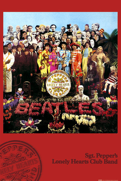 Beatles Sgt Peppers Poster