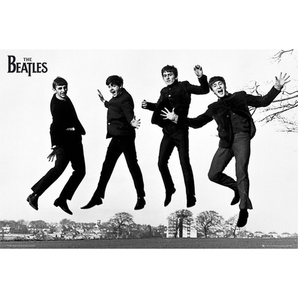 Beatles Jumping Poster