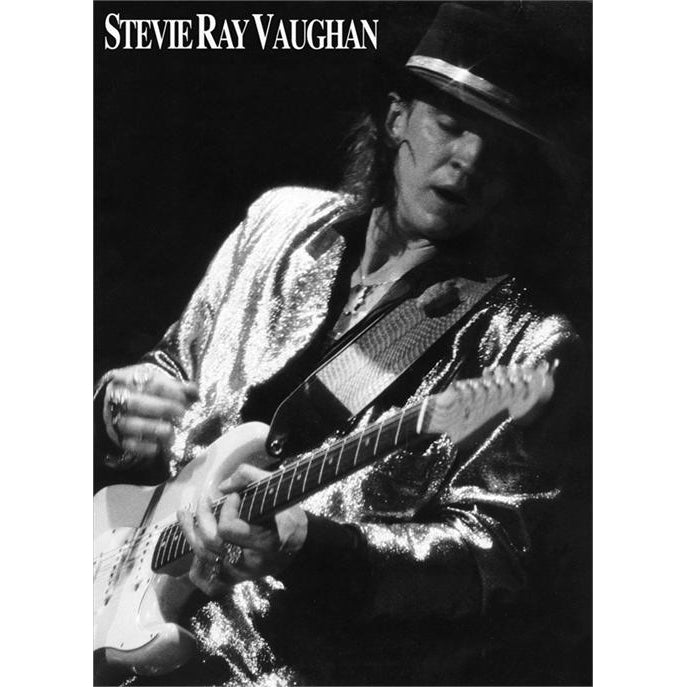 Stevie Ray Vaughan B&W Poster