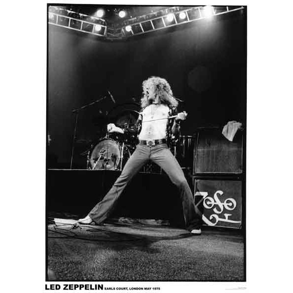Robert Plant Live Poster