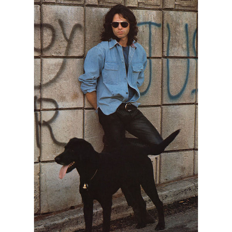Jim Morrison Black Dog Poster