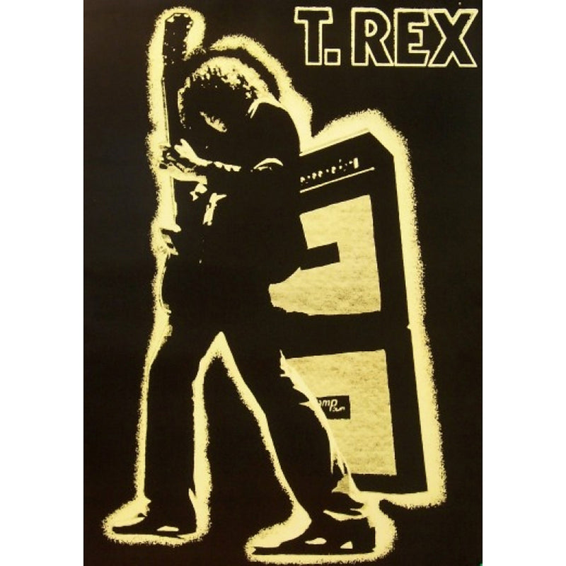 T-Rex Electric Warrior Poster