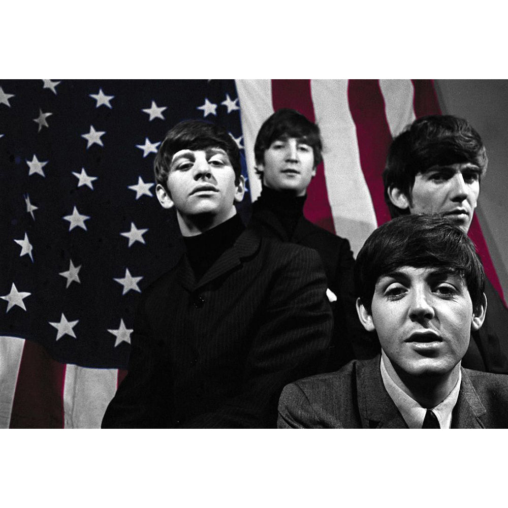 Beatles To The USA Poster