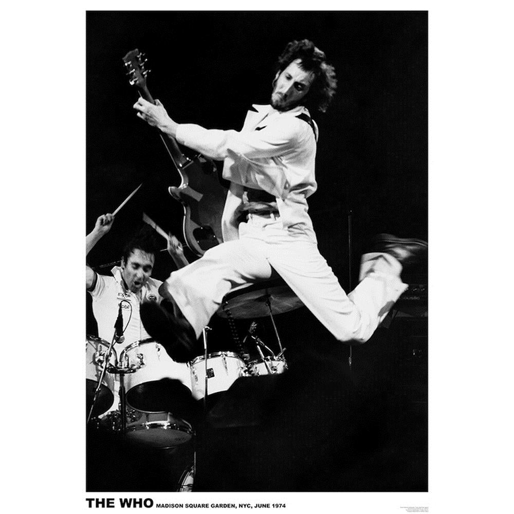 The Who MSG 1974 Poster