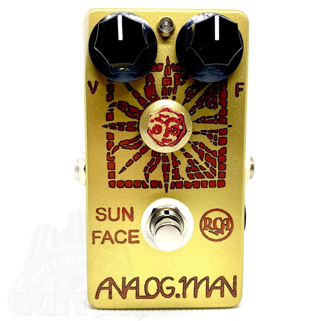 Analogman Sun Face RCA Lo Gain