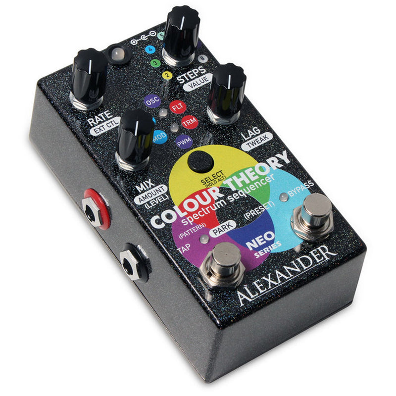 Alexander Pedals Colour Theory Spectrum Sequencer Effects Pedal