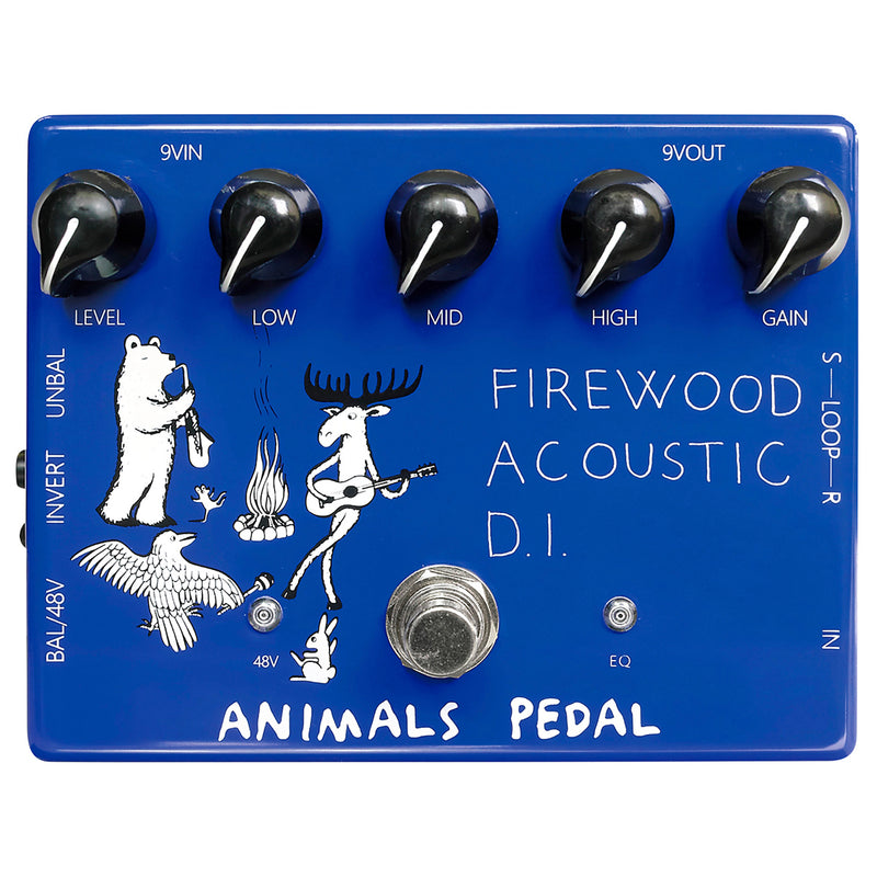 Animals Pedal Firewood Acoust