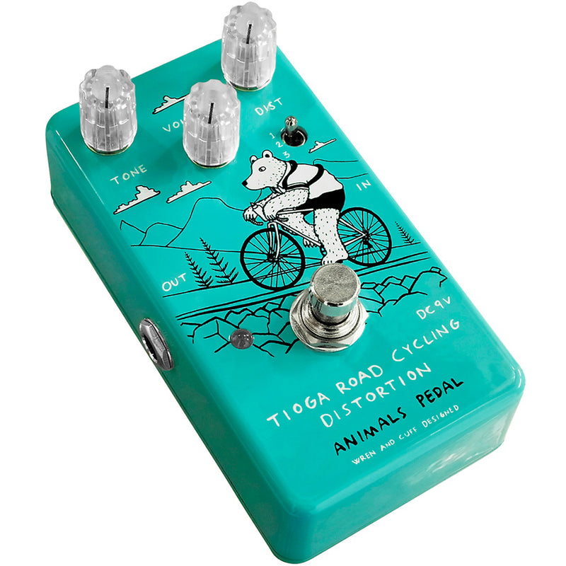 Animals Pedal / Wren and Cuff Tioga Road Distortion Effects Pedal